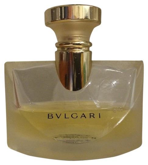 BVLGARI EAU DE PERFUME 50 ML BOTTLE HALF FULL