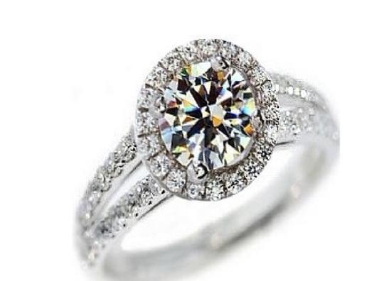 Pave Sizes Size4.5 5 5.5 6 7 and 8 In Stock Diamond Square Band Proposal Promise Wife 2ct Engagement Ring Image 4