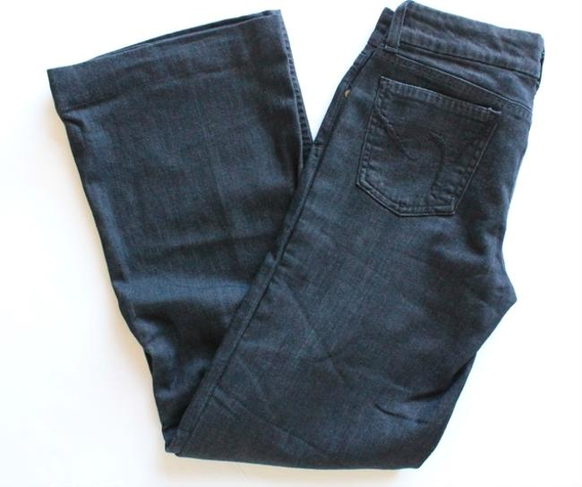 Citizens of Humanity Flare Leg Jeans-Dark Rinse