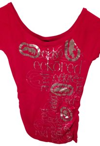 Ecko T Shirt Red