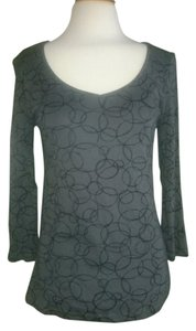 Old Navy Top Gray & Black