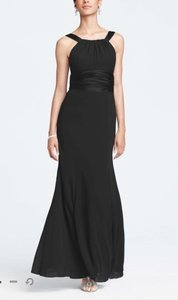 David's Bridal Black Shell: 100 Polyester Lining: Polyester Style F12732 Formal Bridesmaid/Mob Dress Size 8 (M)