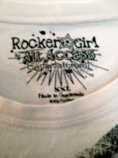 Rocker Girl T Shirt White