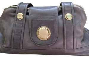 Gustto Leather Leather Timeless Satchel in dark gray