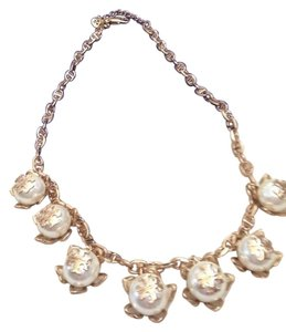 Tory Burch NWT Tory Burch Cara Flower Pearl Necklace