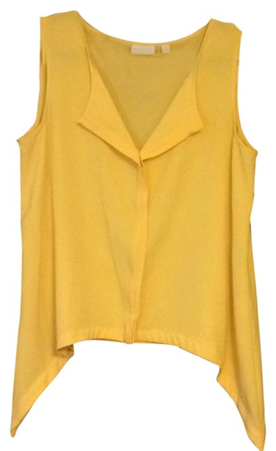 New York & Company Top Canary yellow