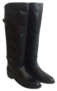 Frye Equestrian New In Box Classic Black Boots
