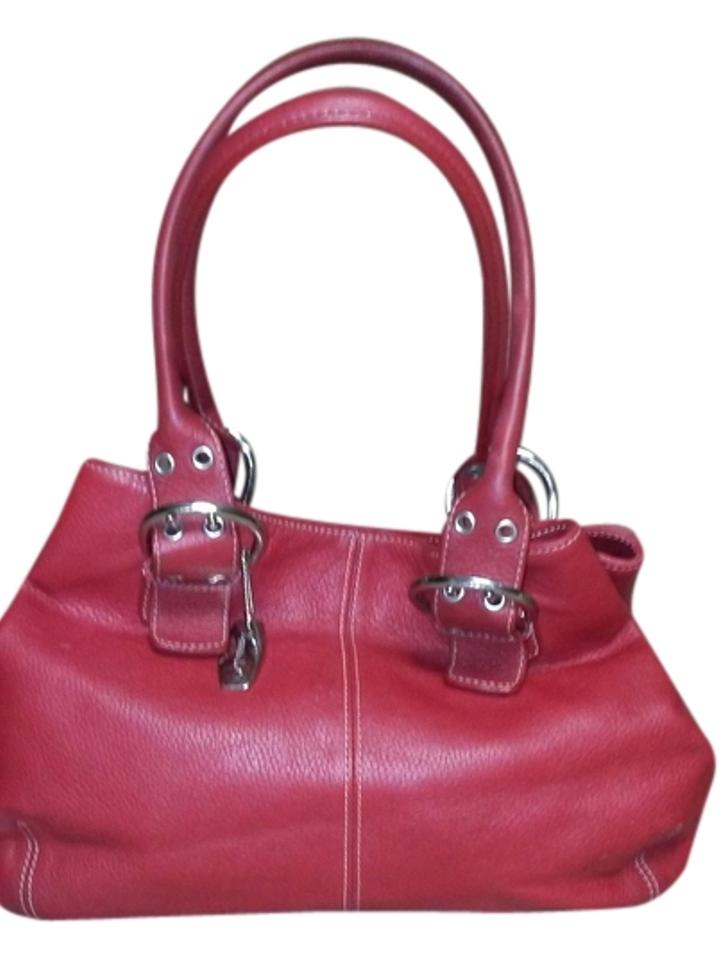 Tignanello Wine Leather Shoulder Bag - Tradesy 54dc025a1c597