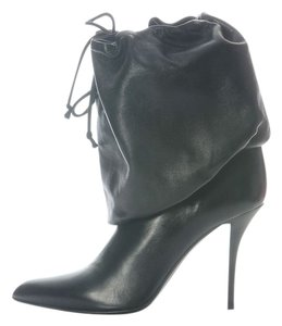 Helmut Lang Slouchy Drawstring Hm.eh1125.34 Leather Boots