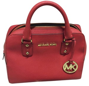 MICHAEL Michael Kors Satchel in Red