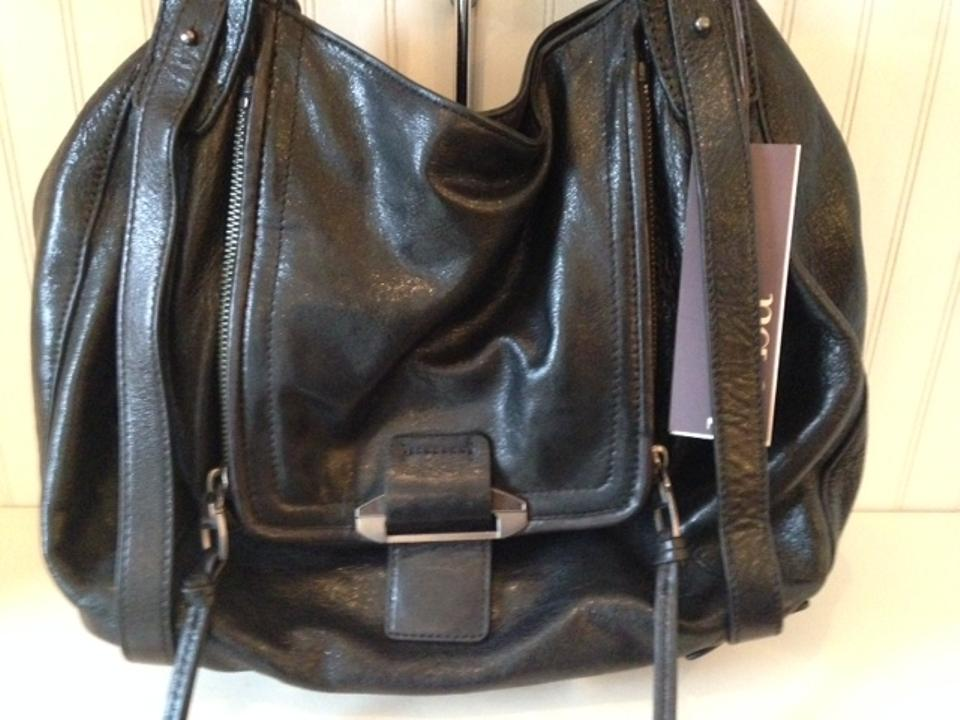 Leather Tote Black Black Kooba Jonnie Jonnie Kooba XxSOxz