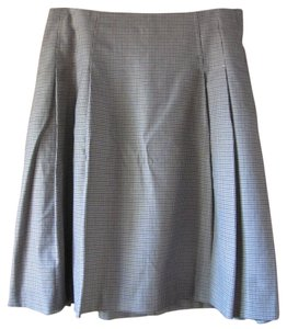 Gap Pleated Skirt Multi shades for brown