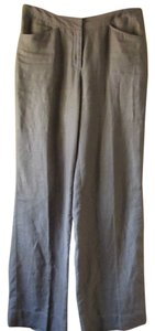 J. Jill Linen Lovely Relaxed Pants Brown