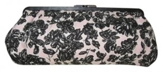 Preload https://item2.tradesy.com/images/ann-taylor-loft-pink-and-black-woven-cotton-clutch-14136-0-0.jpg?width=440&height=440