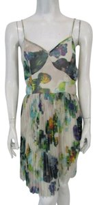 Jack short dress Multicolored The Monique Phi Phi Floral Pleated Above Knee on Tradesy
