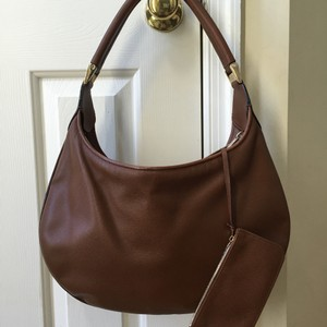 Valextra Leather Textured Leather Hobo Bag