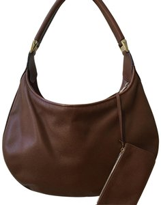 Valextra Textured Leather Italian Free Shipping Pouch Hobo Bag