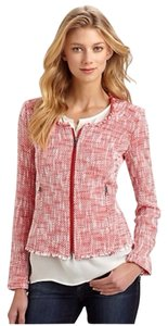 Joie Tweed Red Blazer