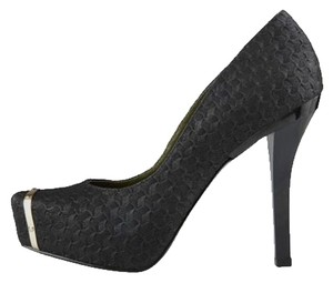 Christian Siriano for Payless Black Gold Black/Gold Pumps