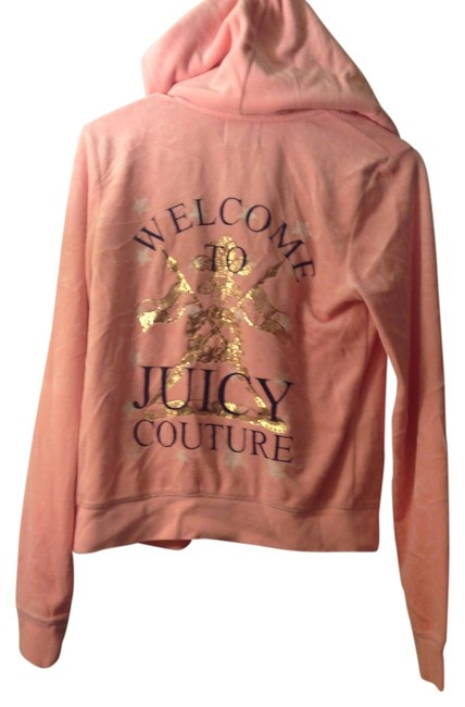 Item - Pink; Peach Tracksuit Gold Activewear Outerwear Size 8 (M, 29, 30)