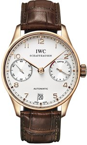 IWC IWC Portuguese Automatic 18K Rose Gold Mens Watch IW500113