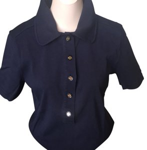 Tory Burch T Shirt Navy blue