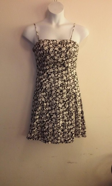 black and white Maxi Dress by Ann Taylor