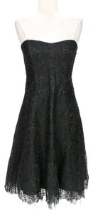 Nicole Miller Silk Lace Dress