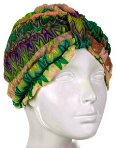 Missoni MISSONI KNIT CHEVRON HAT W/ TAGS
