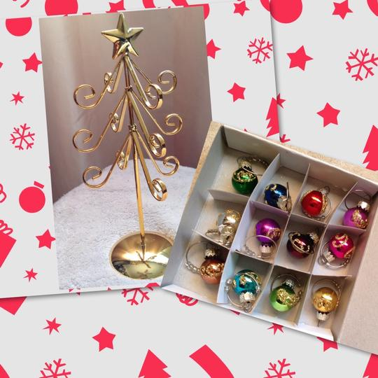Other Wine Charm Tabletop Christmas Tree
