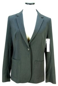 DKNY New Charcoal Gray Blazer