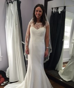 Lace Topper Wedding Dress