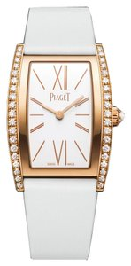 Piaget Piaget 18K Rose Gold Diamond Limelight Tonneau-Shaped Watch G0A39188