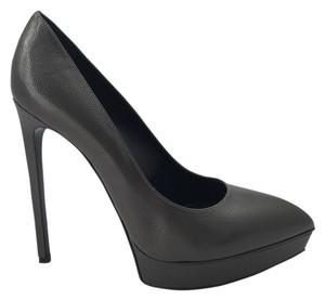 Saint Laurent Grey Pumps