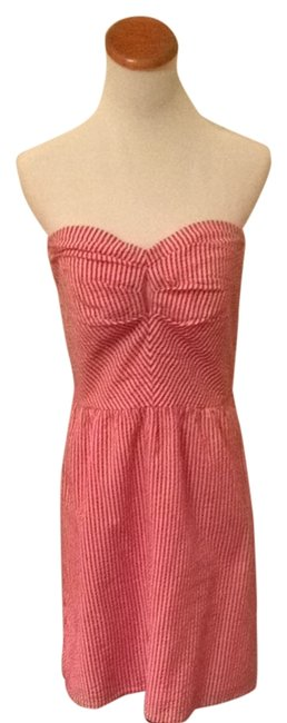 Judith March short dress Red And White on Tradesy