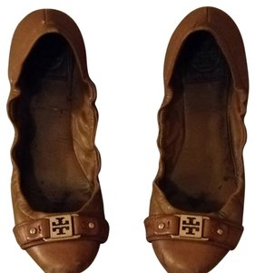 Tory Burch Tan Flats