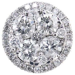 ABC Jewelry 3/4 ct Round diamond fashion pendant