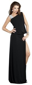 Jovani Front Slit Dress