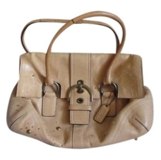 Preload https://item2.tradesy.com/images/coach-soho-studded-with-swarovski-crystals-brown-leather-satchel-141386-0-0.jpg?width=440&height=440