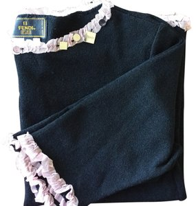 Fendi Top Black and Pink