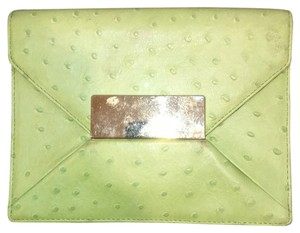 Michael Kors Lime Green Clutch