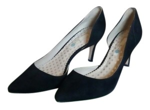Boden Suede Black Pumps
