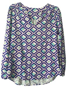 Mahi Gold Preppy Print Summer Spring Comfortable Tunic