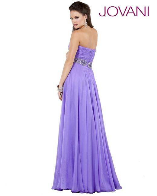 Jovani A-line Skit Prom Evening Strapless Sweetheart Dress