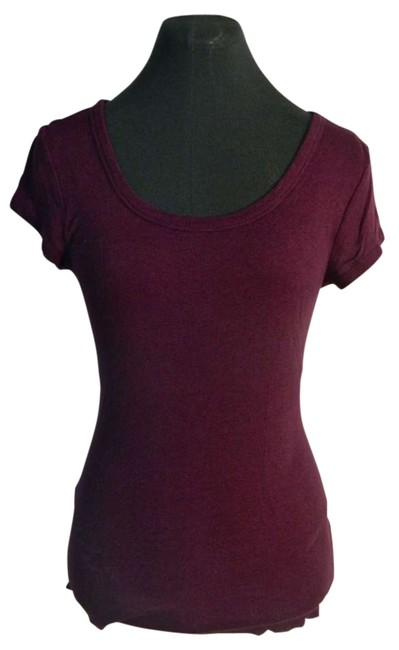 Preload https://item4.tradesy.com/images/daisy-fuentes-purple-tee-shirt-size-4-s-141393-0-0.jpg?width=400&height=650