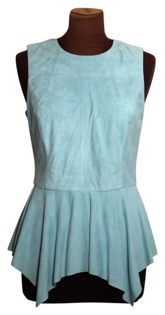 Preload https://img-static.tradesy.com/item/14139370/w-by-worth-turquoise-spring-2014-look-28-tank-topcami-size-6-s-0-1-650-650.jpg