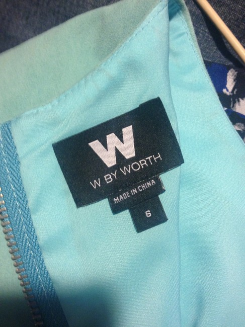 W by Worth Suede Sleeveless Top turquoise