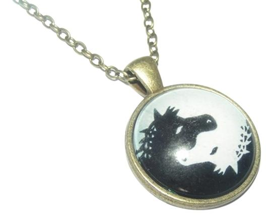 Preload https://img-static.tradesy.com/item/14139913/bronze-buy-1-get-2-free-ying-yang-horse-cabochon-free-shipping-necklace-0-1-540-540.jpg