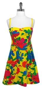 Nanette Lepore short dress Multi Cotton Flora on Tradesy