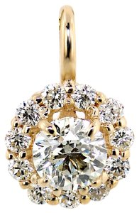ABC Jewelry Halo head diamond pendant.